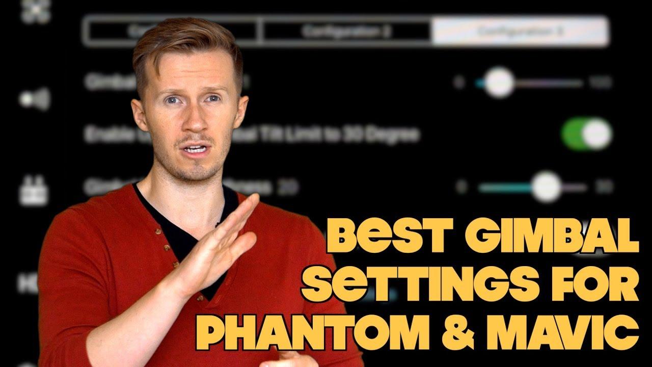 Best Settings For DJI Mavic & Phantom || Tutorial By Drone Film Guide