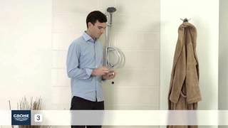GROHE Douchethermostaatkraan installeren