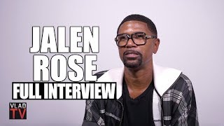 Jalen Rose on Kobe, Jordan, Kaepernick, Jay Z, LaVar, Magic, Fab Five, Molly (Full Interview)