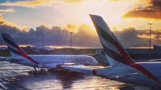 Emirates First Class, Flying Over The Tasman Sea | Flight Report [HD]
