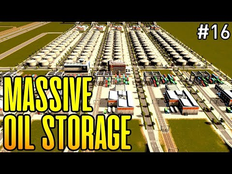 HIGH CAPACITY OIL STORAGE - The Industrial Project Episode 16