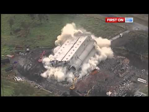 Failed Brisbane demolition goes viral