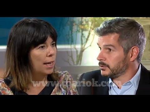 María O'Donnell se le plantó a Marcos Peña y se cruzaron al aire