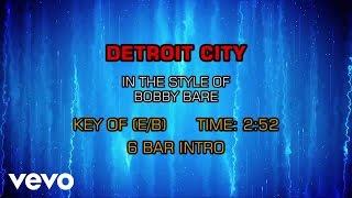 Bobby Bare - Detroit City (Karaoke)