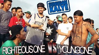 SUNUGAN KALYE - Righteous One vs Young One