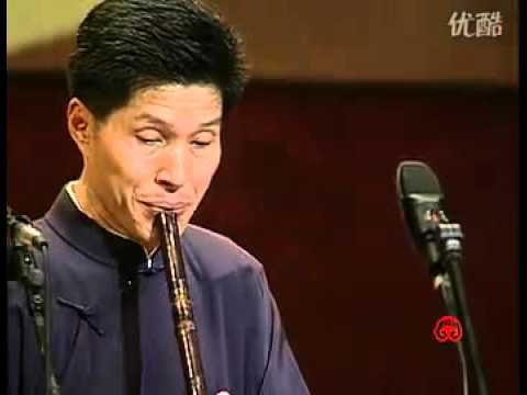 Beautiful Night - Chinese flute music performed by Zhang Wei-Liang / 良宵 张维良 箫演奏