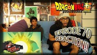 Dragon Ball Super Ep. 70 REACTION + Predictions!! |