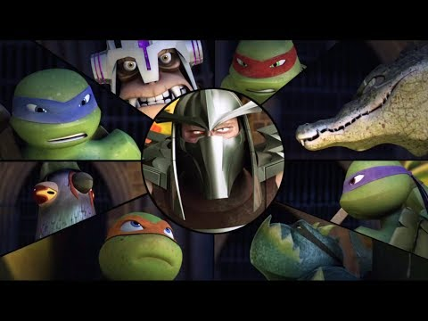 Turtles And Mutanimals VS Shredder - Teenage Mutant Ninja Turtles Legends