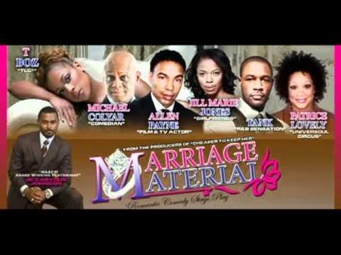 Allen Payne in Je'Caryous Marriage Material Mr. Right? by Kingi Knox