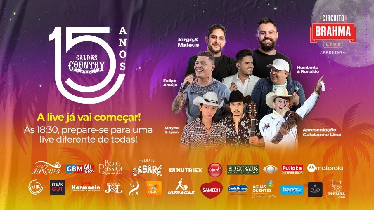 Live Caldas Country Show 15 anos
