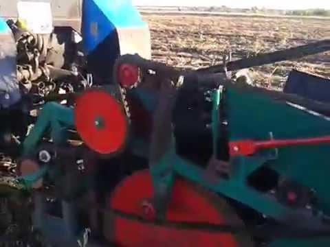 Работа копателя КСК-1 - YouTube