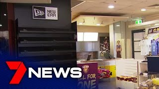 Brisbane Lions fever takes over the city | 7NEWS