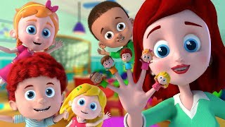 Schoolies Finger Family   Fun Nursery Rhymes for Kids and Children