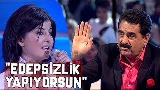 """İbrahim Tatlıses'e Yarışmacıdan ŞOK Cevap! """"Edepsizlik Yapıyorsun!""""  - Popstar"""