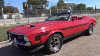 1971 Ford Mustang Convertible for sale - road test & tour
