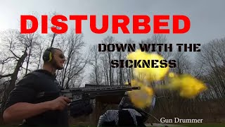 Disturbed - Down With The Sickness, Gun Cover! #disturbed #downwiththesickness