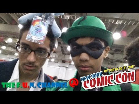 The F.U.N. Channel @ New York Comic Con 2013!