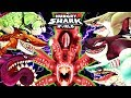 ALL !! SHARKS (BUZZ) vs GIANT SQUID BOSS (HUNGRY SHARK WORLD)
