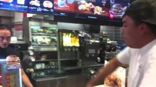 BNZ vs CASHIER - How to order Mcdonalds like a boss (Freestyle)