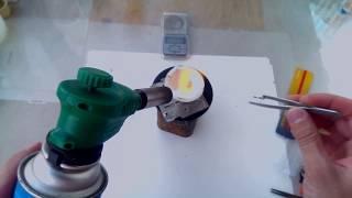 Простой и удобный метод плавки золота.