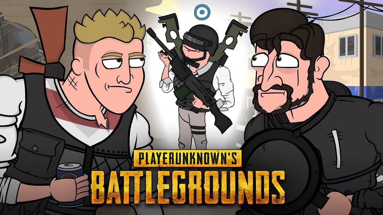 Playerunknown S Battlegrounds Cartoon: Да она же розовая! I Вся суть PLAYERUNKNOWN