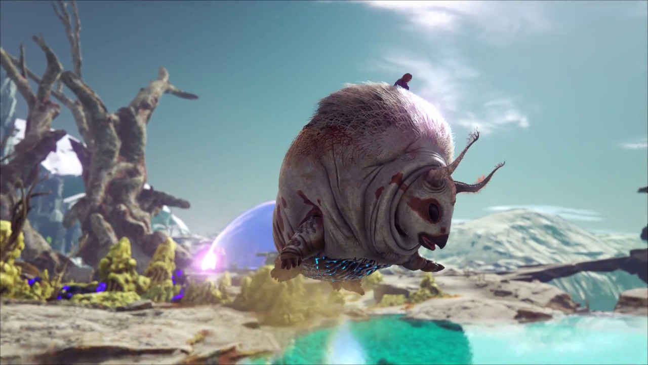 ark extinction creature teaser gasbags youtube