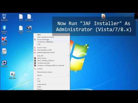 How to Download And Setup JAF + Pkey v3 / v5