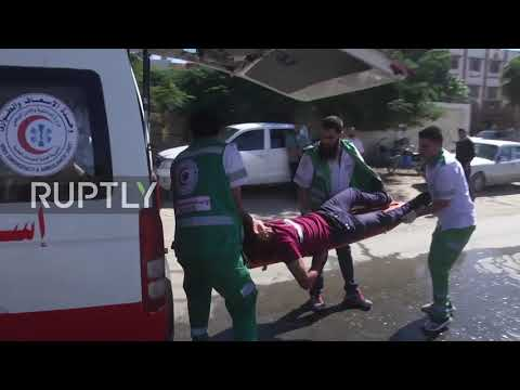 State of Palestine: Emergency response drills carried out in Gaza