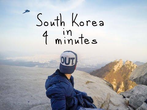 South Korea in 4 minutes | GoPro Hero