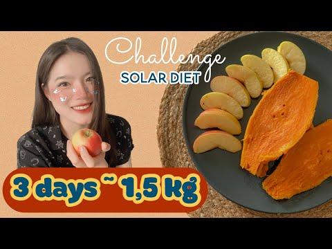 sub) 🔥-1,5kg in 3 days | SOLAR DIET