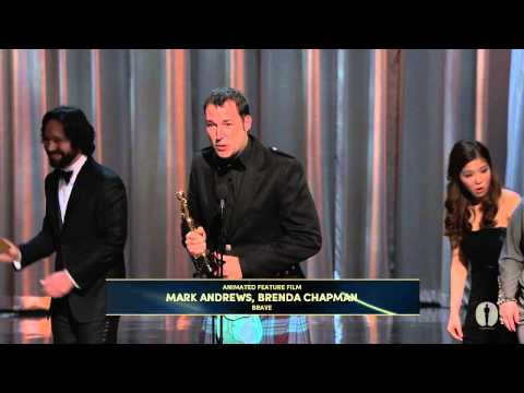 """Brave"" winning Best Animated Feature Film Mp3"