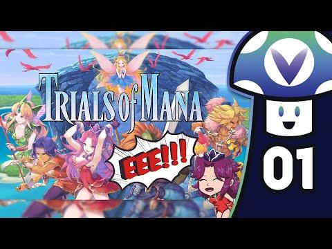 [Vinesauce] Vinny – Trials of Mana (PART 1 Demo)