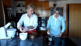 Großmutter's  Schokoladeschaum Torte