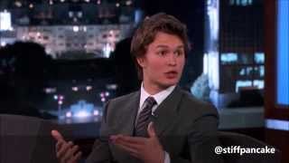 Ansel Elgort - Funny Moments Part 1