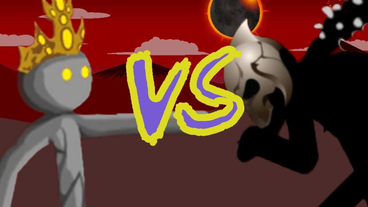 Laser Eyes vs The Final Boss - Insane // Stick War Legacy