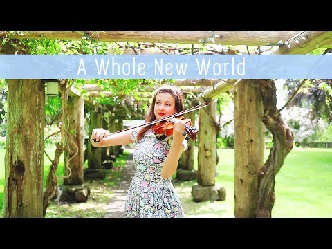 A Whole New World  Disneys Aladdin  Christina Duncan violin