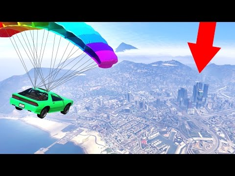 FLY 10 MILES OR DIE! (GTA 5 Funny Moments)