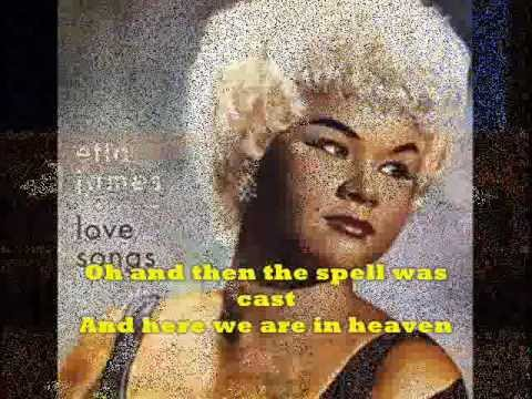 AT LAST + Lyrics  ETTA JAMES   Original Version