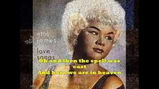 """AT LAST"" + Lyrics  ETTA JAMES  - Original Version"
