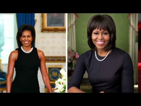 Michelle Obama's new portrait