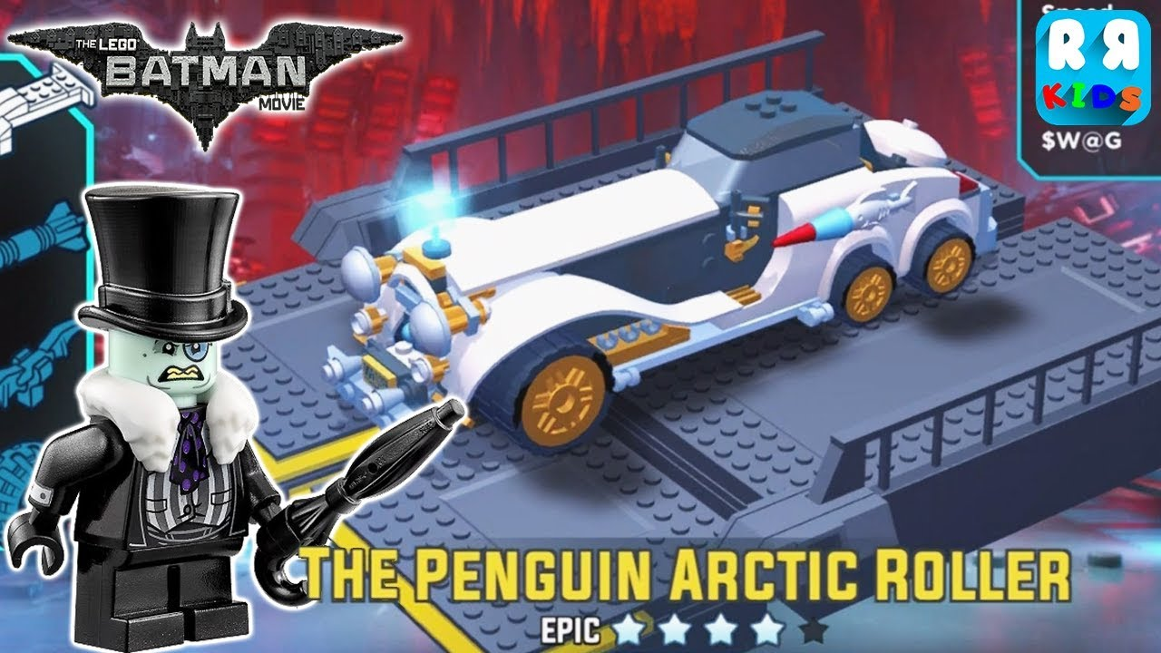 The Lego Batman Movie Game The Penguin Arctic Roller Youtube
