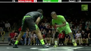 Mark Hall vs. Anthony Valencia - Who's #1 2014