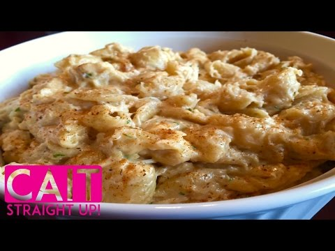 Baked Crab Macaroni & Cheese Recipe From Scratch | Cait Straight Up