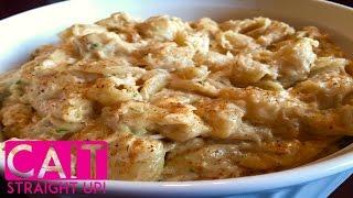 Baked Crab Macaroni & Cheese: Yum!