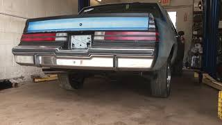 84 Buick Regal dual exhaust from the headers back.