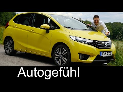Honda Jazz / Honda Fit FULL REVIEW test driven all-new neu 2016/2017