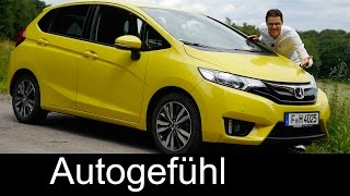 Honda Jazz / Honda Fit FULL REVIEW test driven all-new neu 2016/2017