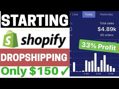 DROPSHIPPING:EASIEST WAY TO START SHOPIFY DROPSHIPPING From Scratch STEP BY STEP GUIDE for 2020
