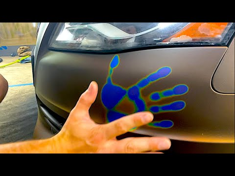 Creating a MOOD RING Car (Changes Color When You Touch it!)