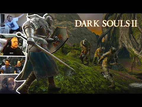 Streamers Rage While Playing Dark Souls II, Compilation (Dark Souls)